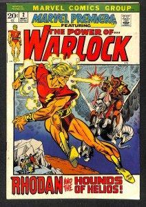 Marvel Premiere #2 FN 6.0 Warlock! Comics