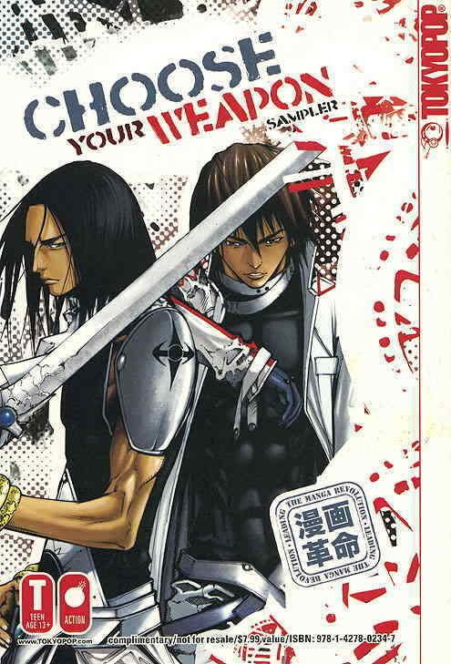 Choose Your Weapon Sampler #1 VF/NM; Tokyopop | save on shipping - details insid