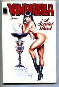 Vampirella A Scarlet Thirst 1993 Harris-Dave Stevens cover art