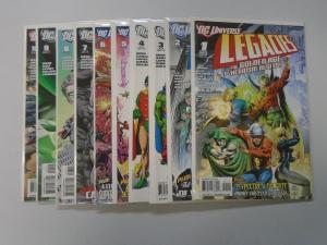 DC Universe Legacies, Set:#1-10, 8.0 VF (2010)