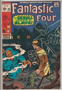 Fantastic Four #90 (Sep-69) VF/NM High-Grade Fantastic Four, Mr. Fantastic (R...