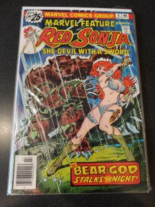 MARVEL FEATURE PRESENTS RED SONYA #5 VF HIGH GRADE