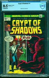 Crypt of Shadows #4 CBCS VF+ 8.5 Off White to White