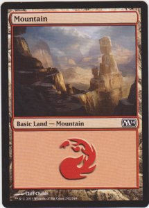 Magic the Gathering: Magic 2014 - Mountain