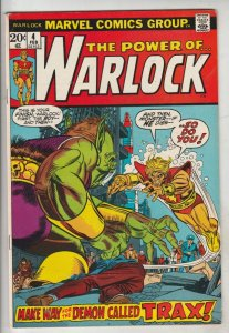 Warlock, the Power of  #4 (Feb-73) VF/NM High-Grade Adam Warlock