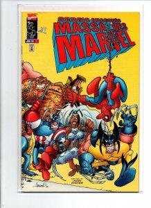 Sergio Aragones Massacres Marvel #1 - 1996 - Near Mint