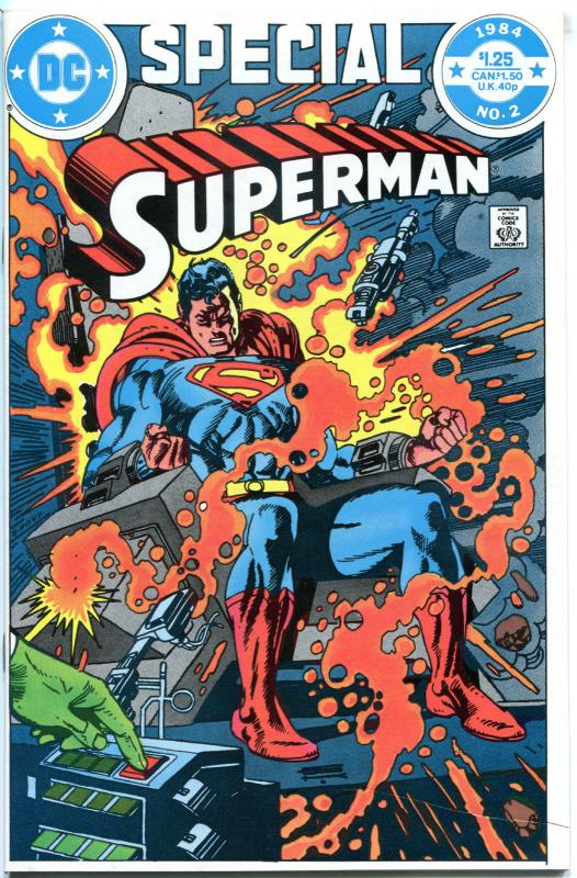 SUPERMAN Special #2, NM-, Gil Kane, 1984, Demon with a Cape, more DC in store