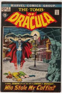 Tomb of Dracula #2 (May-71) FN- Mid-Grade Dracula