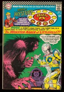 HOUSE OF MYSTERY #162 1966-DIAL H FOR HERO-PORCUPINE-SF FN