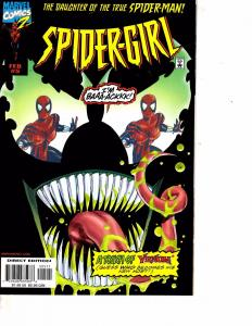 Lot Of 2 Marvel Comic Books Spider-Girl #5 and #6 Ironman   ON3