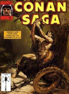 Conan Saga #63, NM + (Stock photo)