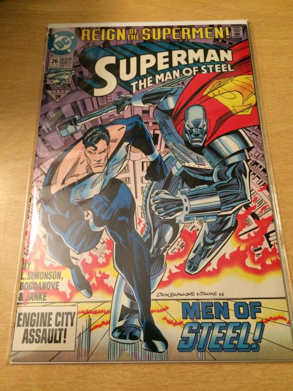 Superman: The Man of Steel #26 Reign of the Supermen