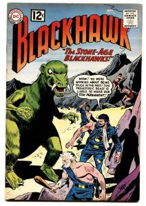 BLACKHAWK #176 1962-DC COMICS-GLOSSY STONE AGE COVER VF+