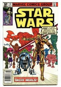 STAR WARS #47-1st appearance of Captain Kligson. Newsstand