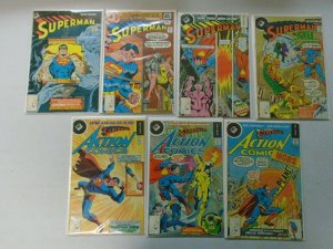Whitman Superman comic lot 14 different issues 4.0 VG