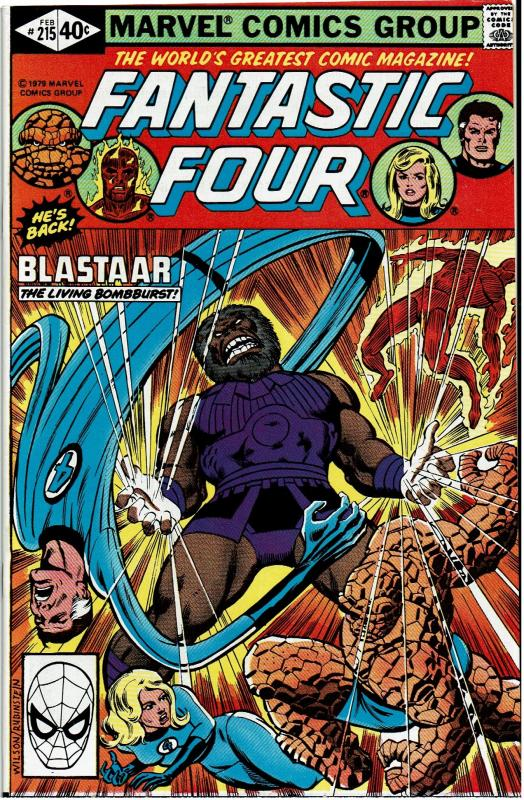 Fantastic Four #215, 8.0 or better - 1st App. The Futurist / Blastaar App.