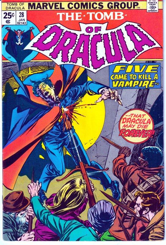 Tomb of Dracula(vol. 1) # 28  Very Fine/Fine Condition