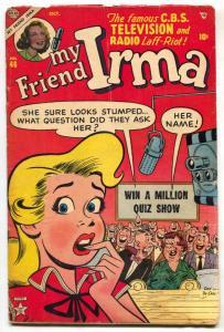My Friend Irma #46 1954-ATLAS-DAN DECARLO ART-SPICY G