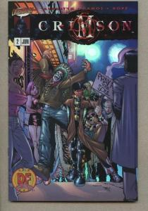 CRIMSON #2, NM, Chromium DF cover, Undead, Blood, Ramos, Vampires, 1998