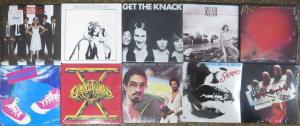 VINTAGE CHU-BOP SET! 10 MINI-ALBUMS, ALL SEALED! Blondie! Southside Johnny!