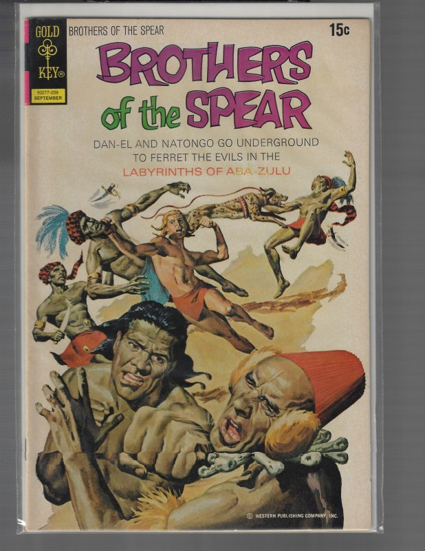 Brothers of the Spear #2 (Gold Key, 1972)