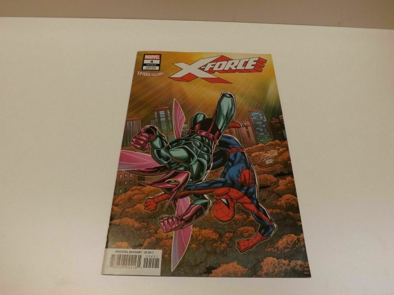 X-Force #4 VF//NM Spider-Villains Variant Cover 2018