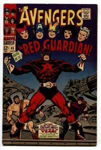 Avengers #43 1st appearance RED GUARDIAN comic book 1967 Marvel VF