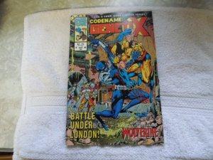 1993 MARVEL UK COMICS CODENAME GENETIX # 1 OF 4