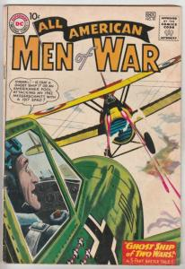 All-American Men of War #81 (Oct-60) FN Mid-Grade