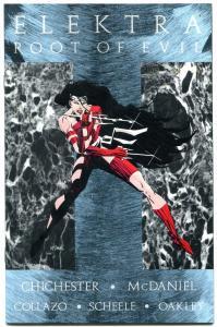 Elektra Rootof Evil #1 1995- Marvel comics- NM-