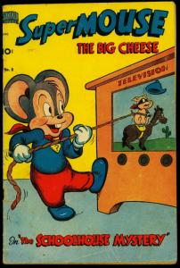 Supermouse #8 1950- Golden Age Funny Animals TV cover G/VG