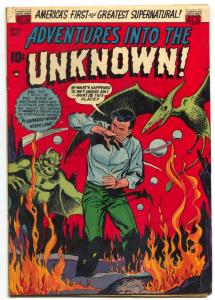 Adventures Into The Unknown #43 1953- Golden Age Horror VG/F