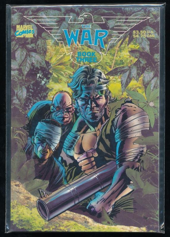 Marvel Comics, THE WAR ~ Book THREE 3 - VF/NM (SIC402)