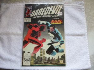 1988 MARVEL COMICS DAREDEVIL MAN WITHOUT FEAR # 257