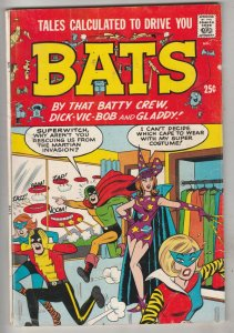 Tales Calculated to Drive You Bats #1 (Nov-61) FN+ Mid-High-Grade Wolfman