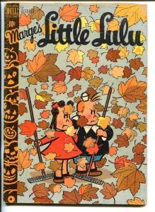 MARGE'S LITTLE LULU #16-TOPLESS MERMAID-TUBBY-HUMOR-1949-vg