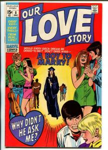 Our Love Story #8 1970-Marvel-Gene Colon-Dick Ayers-VF+