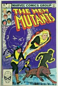 NEW MUTANTS#1 VF/NM 1983 MARVEL BRONZE AGE COMICS