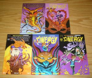 Sinergy #1-5 VF/NM complete series - michael avon oeming - image comics 2 3 4