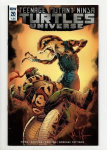 TMNT Teenage Mutant Ninja Turtles Universe #20 Cvr B (IDW, 2018) NM