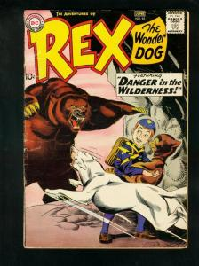 ADVENTURES OF REX THE WONDER DOG #45 1959-DETECTIVE CHIMP-CUB SCOUT-very good VG