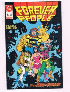 Forever People #2 VF DC Comics Six Issue Mini Series Comic Book 1988 DE12