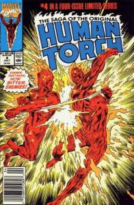 Saga of the Original Human Torch #4, VF+ (Stock photo)