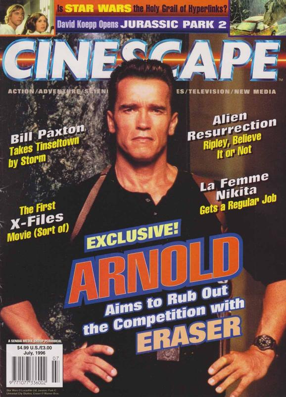 Cinescape (vol. 2) #10 FN; Cinescape | save on shipping - details inside