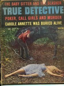 TRUE DETECTIVE-JUNE 1963-SPICY-MURDER-KIDNAP-RAPE-BURIED ALIVE-poor P
