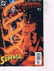 Lot Of 2 DC Comic Books Superman #147 and #192   Batman  LH6