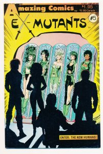 Ex-Mutants (1986) #5 VF