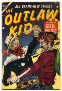 The Outlaw Kid #4 1955- Atlas Western Comic- last golden age issue G-