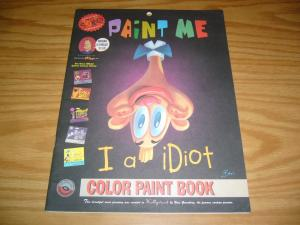 Spumco Color Paint Book: Paint Me I A Idiot #1 VF extremely hard to find