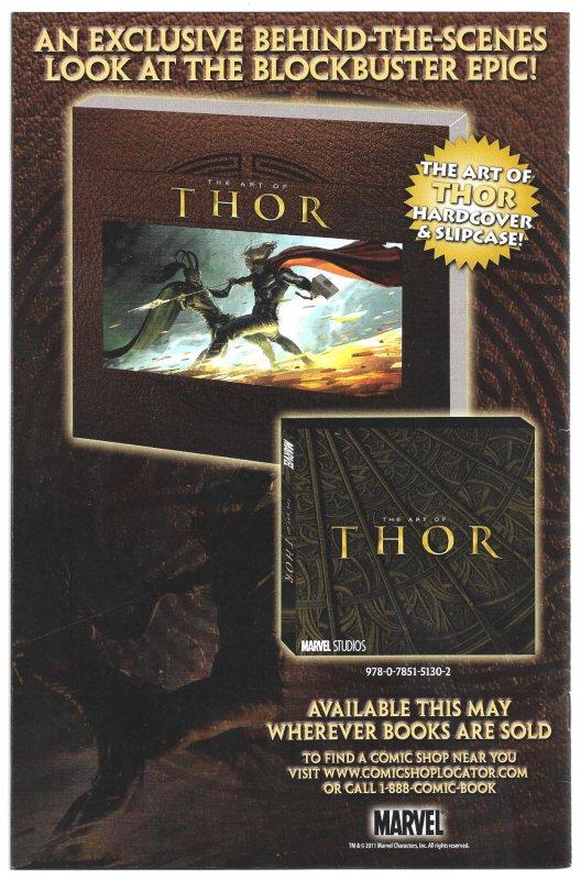 THOR Beside Himself! Both 1-Shot THOR Annual #1 2009, and Mighty THOR SAGA 2011